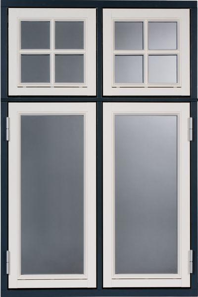 Fenster außenansicht  Dannebrogfenster - DeSka Holzkontor